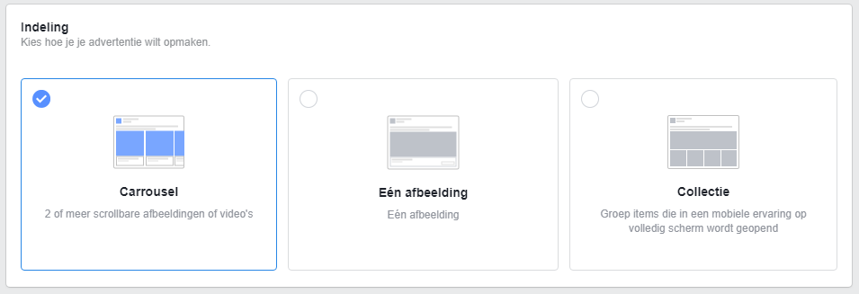 Facebook adverteren met remarketing principe