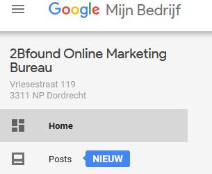 Google Post aanmaken in Google Mijn Bedrijf
