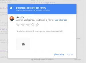 Google reviews verzamelen 2Bfound - Review schrijven