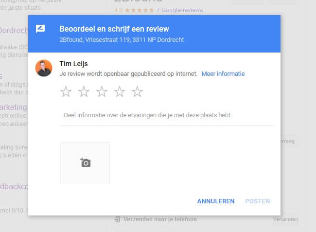 Google reviews verzamelen - How to