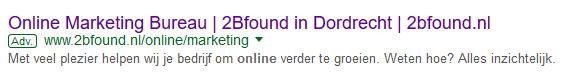 Wat is Google AdWords - 2Bfound