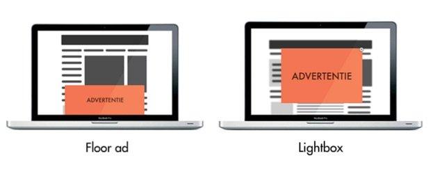 Verschillende Ads types