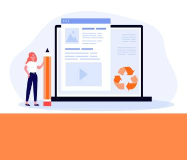 recycling content marketing