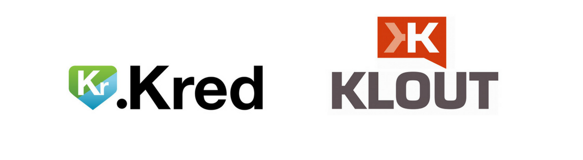invloedscore via kred of klout