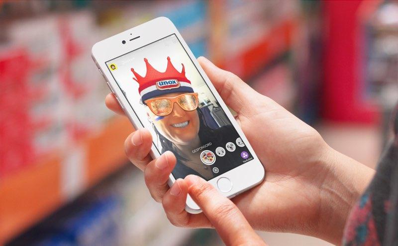De geofilters van Snapchat