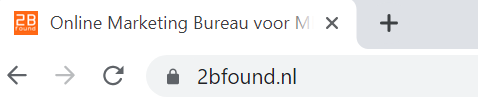 Beveiliging website 2Bfound